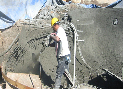 "5. Shotcrete Shell ""Concrete"""
